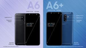 Volgens de Duitse website WinFuture wil Samsung de onaangekondigde Galaxy A6-serie alsnog gaan uitbrengen in mei. De website geeft de volledige specificaties en ook afbeeldingen vrij van deze nieuwe modellen. Het gaat in dit geval om de Galaxy A6 en de Galaxy A6+ die in mei nog leverbaar moeten worden. Qua specificaties verschillen beide modellen niet, echter heeft de Galaxy A6+ een groter scherm met een hogere resolutie en een snellere processor aan boord.