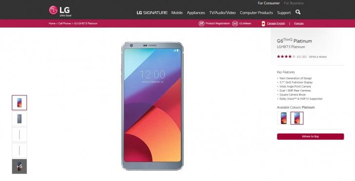 Met de merknaam ThinQ wil LG hun nieuwe slimme smartphones gaan aanduiden. Onder deze merknaam is al recentelijk de G7 gelanceerd en kan de bestaande V30 nog een update verwachten naar deze merknaam. Op de Canadese website van LG is nu ook de G6 omgedoopt tot de G6 ThinQ. Hiermee lijkt LG de eerste stappen te zetten naar een omzetting van hun bestaande smartphones.