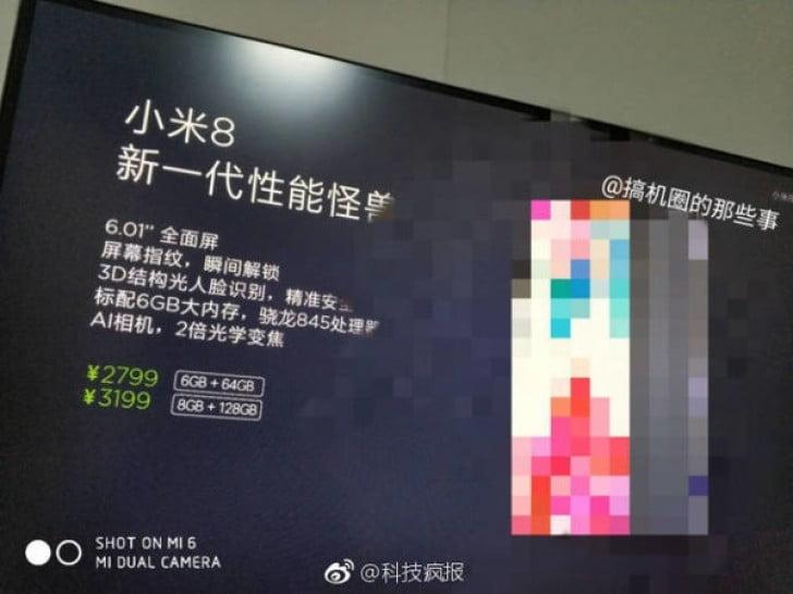 Dit jaar bestaat Xiaomi acht jaar. Een goede reden om het te vieren en daarom verwachten wij binnenkort ook de Mi 8. Het moet het nieuwste vlaggenschip worden van de fabrikant met de laatste technologische hoogstandjes voor een schappelijke prijs. Met de naamgeving Mi 8 slaat de fabrikant de naam Mi 7 over en refereert Xiaomi met deze naam vermoedelijk ook naar hun achtjarig bestaan.