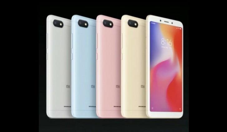 Vandaag heeft Xiaomi de budget smartphones Redmi 6 en Redmi 6A geïntroduceerd. Vooralsnog zullen beide modellen eerst in China worden gelanceerd waarna andere landen spoedig ook zullen volgen. De officiële verkoop start op vrijdag 15 juni. Beide modellen volgen direct de bestaande Redmi 5 op.