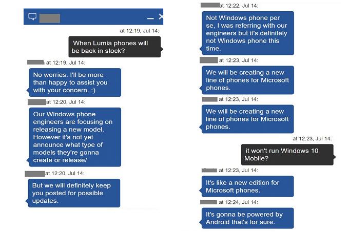 Volgens een medewerker van een Microsoft Store is de techgigant momenteel bezig met de ontwikkeling van een Android smartphone. Uiteraard moeten wij de uitspraak nog met een korreltje zout nemen, maar de keuze voor Android is niet onbegrijpelijk. Al eerder bracht Microsoft Andrid smartphones op de markt die onder an de streep meer winst opleverde.