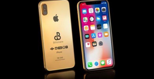 Volgende maand zal Apple hun drie nieuwe iPhone's aan het grote publiek gaan presenteren. Bij Goldgenie kunnen zij echter niet langer wachten op deze introductie en accepteert de juwelier nu al een drietal pre-orders voor de opvolger van de iPhone X. Onder de naam iPhone Xs kun jij de trotse bezitter worden van een in compleet vergulde iPhone. Zoals wij het vaker hebben gezien is dit wel met een stevig prijskaartje.