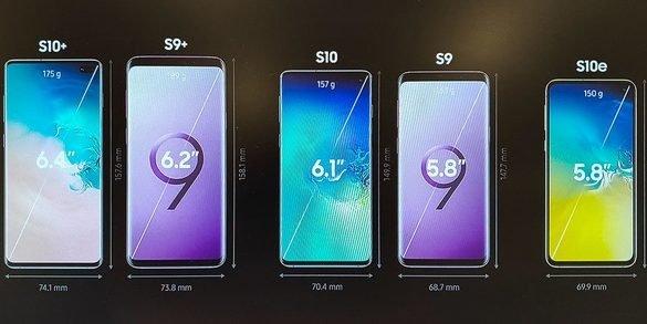 Na maanden van geruchten heeft Samsung eindelijk hun nieuwe Galaxy S10-serie gelanceerd. Veel informatie over de modellen waren op voorhand al gelekt. Toch kunnen de geruchten nu eindelijk ook omgezet worden naar harde feiten. Zoals eerder vermeld zal de nieuwe Galaxy S10e de goedkoopste versie worden van het trio. De nieuwe Galaxy S10+ zal de grootste en duurste versie van het trio worden.