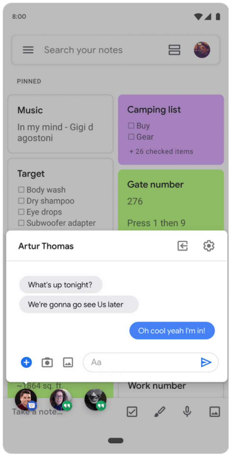 In de nieuwste versie van het mobiele besturingssysteem Android zal multitasking ondersteunt worden via zogenoemde bubbels. Dit heeft Google zelf bekend gemaakt via een blog. De bubbels zijn goed te vergelijken met de bubbels die wij al eens eerder hebben gezien bij Facebook Messenger. Met de bubbels moet het multitaksen volgens Google in Android Q een stuk eenvoudiger worden.