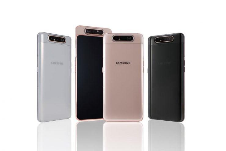 Na veel speculaties heeft Samsung eindelijk de Galaxy A80 gelanceerd. Het model werd eerder genoemd als de Galaxy A90, maar al eerder werd de juiste naam genaamd in andere geruchten. In ieder geval beschikt het model over een roterende camera aan de bovenzijde met een maximale resolutie van 48 megapixels. Ondanks de leuke specificaties valt de adviesprijs gelukkig nog mee.