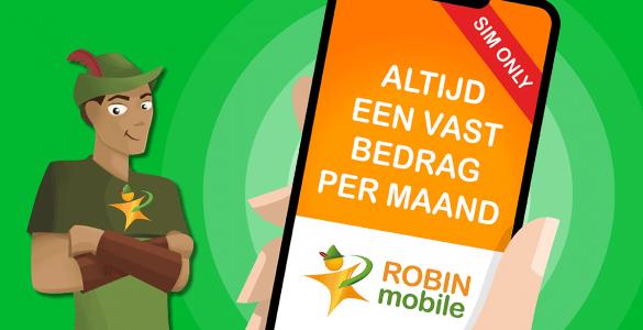 Robin Mobile zal binnenkort overgaan in de naam Budget Mobiel. Voor bestaande klanten zal er niets wijzigen.
