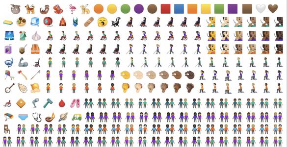 Sinds de komst van WhatsApp is de populariteit van emoji's enorm gestegen. Sommige van deze emoji's kunnen wij goed begrijpen. Neem als voorbeeld het hartje, een kusje of een lach. Met deze emoji's is het ook allemaal gestart, maar voor dit jaar zijn er nog eens 270 toegevoegd in het al enorme aanbod. Wij vragen ons werkelijk af wat we er mee moeten.