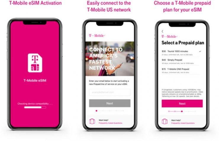 Het is goed mogelijk dat T-Mobile halverwege augustus ook eSIM zal gaan ondersteunen. Een gebruiker van de website Tweakers heeft onafhankelijk via de chat en telefonisch contact gezocht met een medewerker van de provider. Beide bevestigen de komst van de eSIM, al lijken de data's nog wat uit elkaar te liggen.