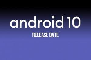 Pixel smartphones krijgen al eerste een update naar Android 10