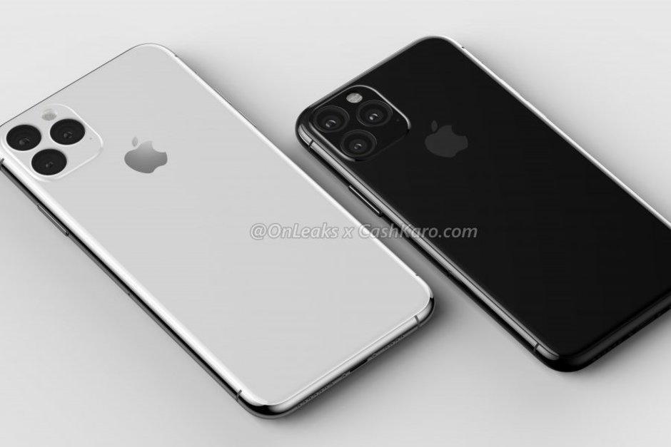 Cameramodule en scherm voor de iPhone 11 in productie