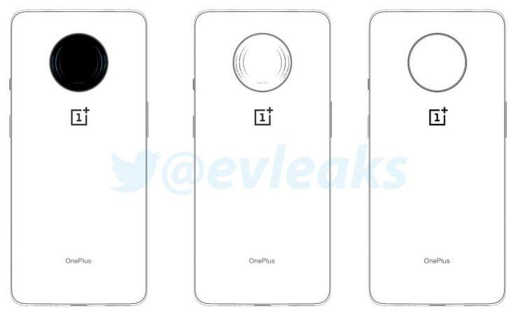 Schetsen tonen vermoedelijk de OnePlus 7T