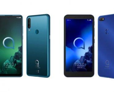 De nieuwe Alcatel 3X en Alcatel 1V zijn zeer betaalbare smartphones