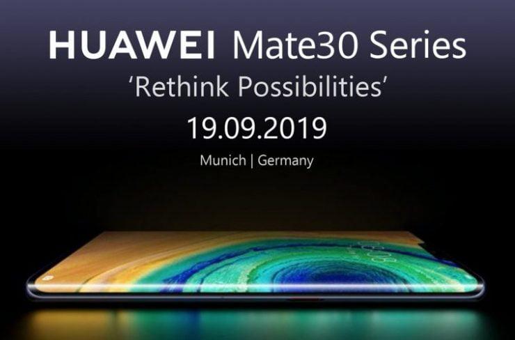 Huawei Mate 30 komt niet in Nederland beschikbaar