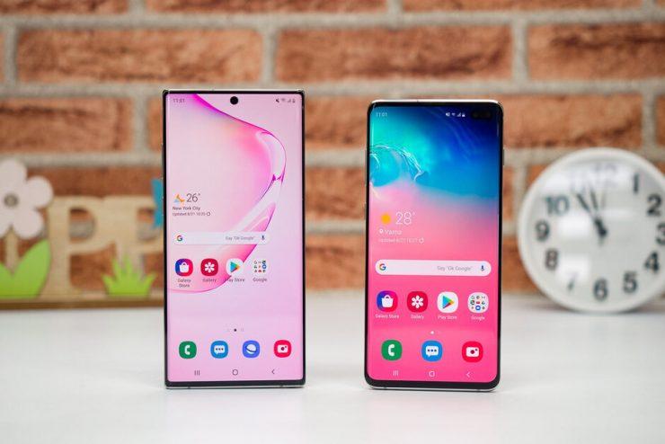 Samsung Galaxy S11 en Galaxy Note 11 worden mogelijk samen gelanceerd