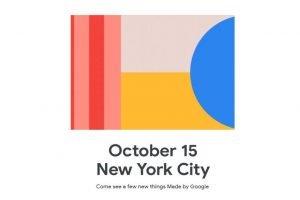 Pixel 4 en Pixel 4 XL zullen op 15 oktober worden gelanceerd door Google.