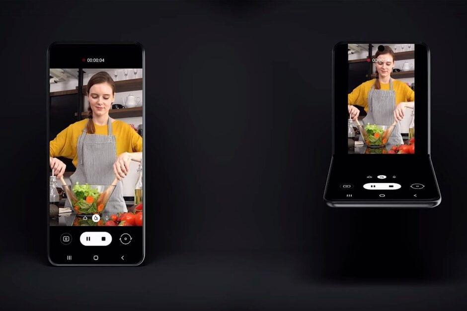De Galaxy Fold 2 werd vandaag tijdens de Samsung Developer Conference voor het eerst getoond.