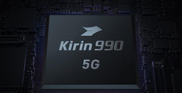De Kirin 1000 chipset zal 5G ondersteunen.