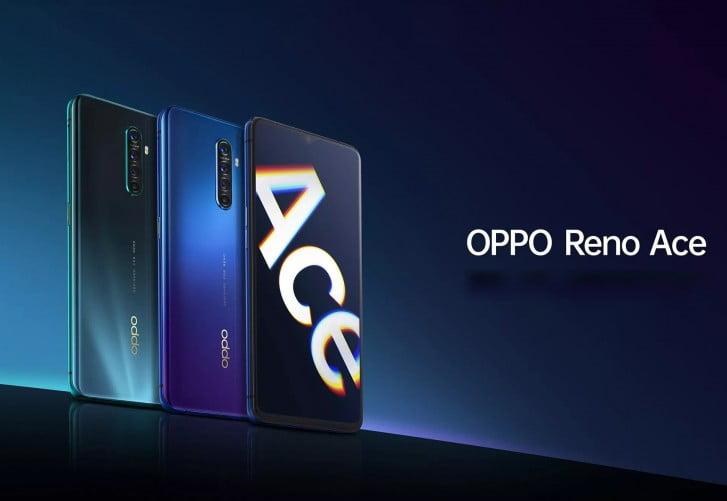 Oppo lanceert de Reno Ace in China.