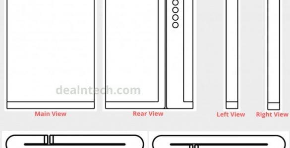 De opvouwbare smartphone van Xiaomi krijgt 2 scharnierpunten.