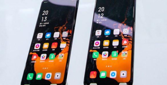 Oppo heeft vandaag een smartphone getoond zonder een poort of knoppen aan de buitenzijde.