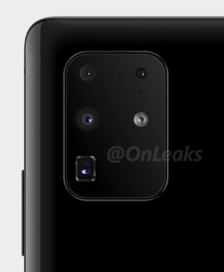 De Galaxy S11 camerasetup lijkt definitief te zijn.