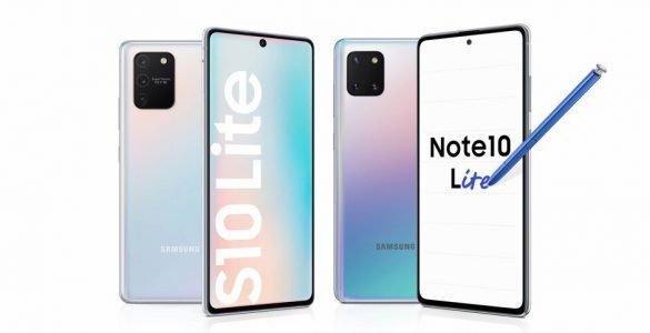 De Galaxy S10 Lite en de Note 10 Lite zijn nu officieel gelanceerd en deze maand nog leverbaar.