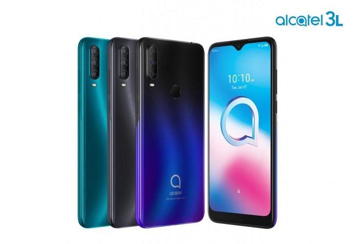 Alcatel lanceert de Alcatel 3L, 1S, 1V en de nieuwe 1B.