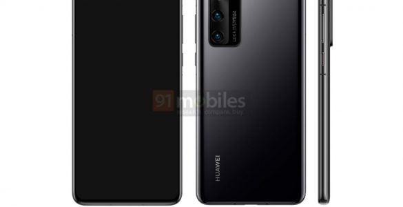 De Huawei P40 heeft zichzelf nu voor het eerst duidelijk in beeld laten zien.
