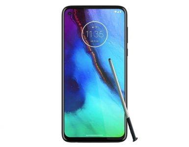 Motorola heeft een smartphone ontwikkelt die met een styluspen zal werken.