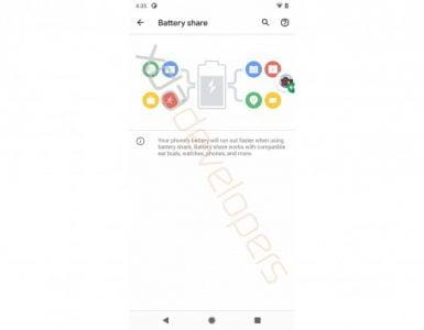 Het delen van de batterij op de Pixel 5 zal een nieuwe feature worden.