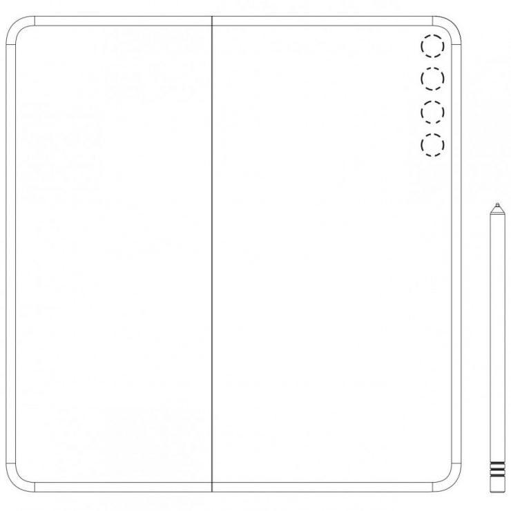 De Huawei Mate X2 heeft zich mogelijk voor het eerst laten zien in patenten.