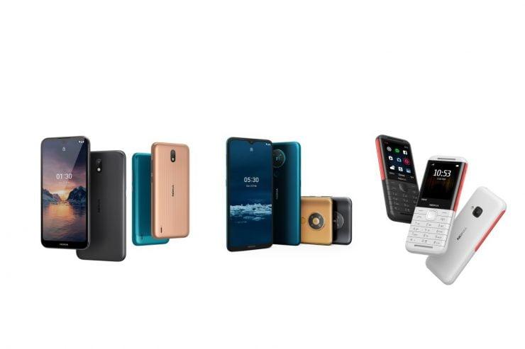 Nokia lanceert de 1.3, de 5.3, de 5310 en de 8.3 5G.