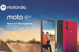 De budgetvriendelijke Motorola E6s is vandaag officieel gelanceerd.