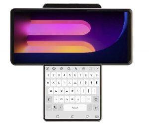 De LG Wing beschikt over een 6.8 inch draaibaar scherm.