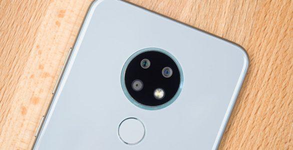 De Nokia 6.3 komt met een krachtige processor en een viertal camera's op de achterzijde.