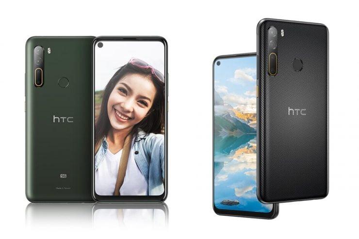 De HTC Desire 20 Pro en de U20 5G zijn een feit.
