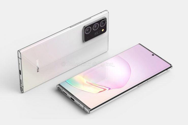 De Galaxy Note 20 Ultra wordt in Europa geleverd met de Exynos 992 chipset, in Amerika met de Snapdragon 865+.