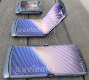 De eerste foto's van de Motorola RAZR 2 5G zijn online verschenen.