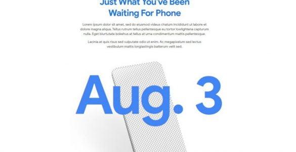 De Pixel 4a zal eindelijk op 3 augustus het daglicht zien.