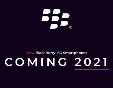 BlackBerry zal in 2021 een nieuwe smartphone lanceren.
