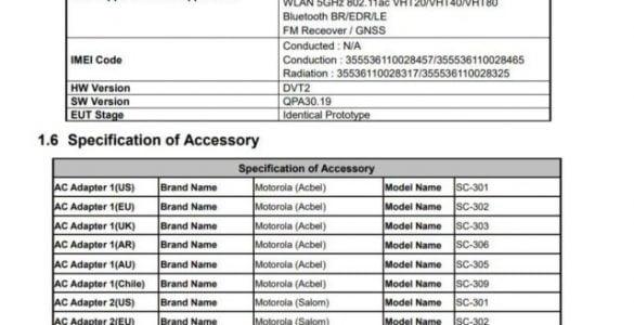 De Motorola Moto G9 Plus staat op de vooravond van lancering.