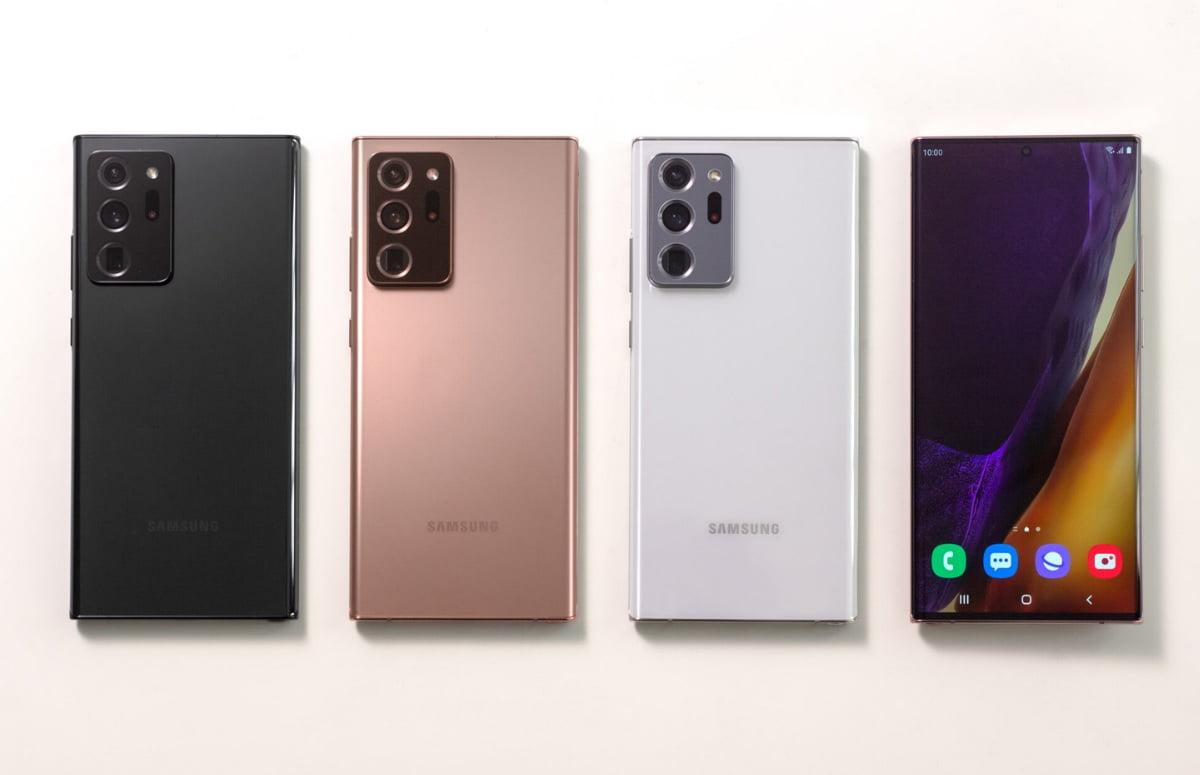 Zowel de Galaxy Note 20 serie als de Galaxy Z Fold 2 hebben hun wereldpremiere meegemaakt.