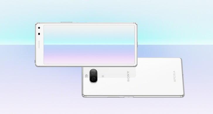 De Sony Xperia 8 Lite is vandaag in Japan officieel gelanceerd.