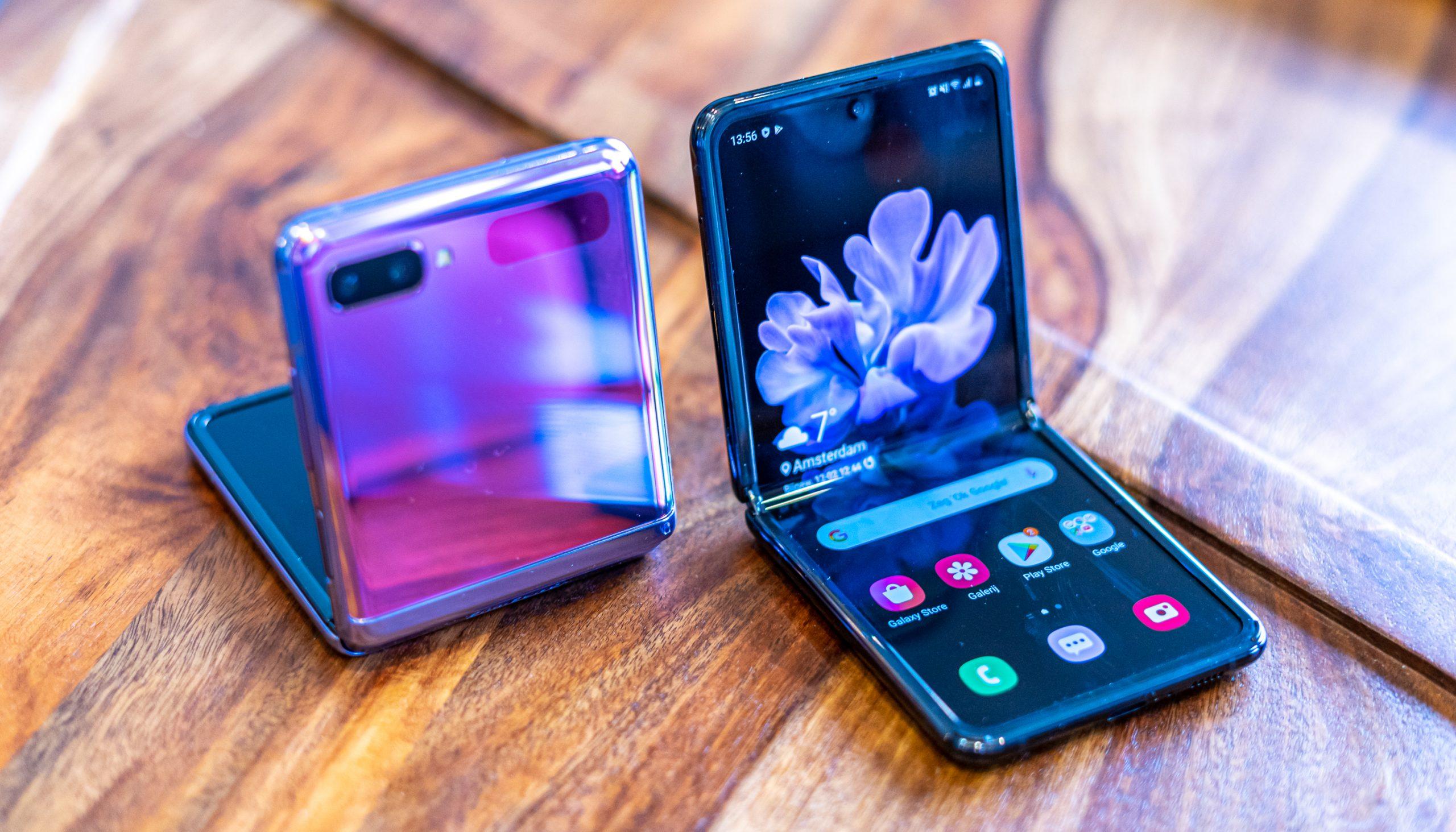 De Galaxy Z Flip 2 zal vooral een groter scherm aan de buitenzijde krijgen.