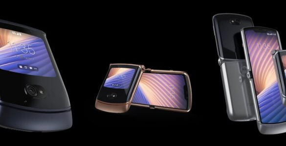 De Motorola RAZR 5G zal dit jaar nog in de Nederlandse schappen liggen.