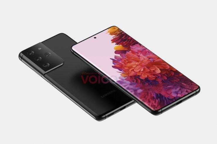 De Samsung Galaxy S21 komt onder andere in de kleuren wit en violet.