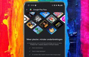 Google Play Pass nu ook in Nederland beschikbaar.