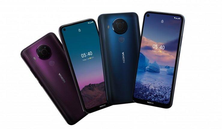 De zeer betaalbare Nokia 5.4 zal binnenkort in Nederland leverbaar zijn.