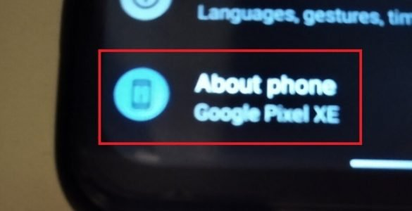 Mogelijk werkt Google aan de Pixel XE.