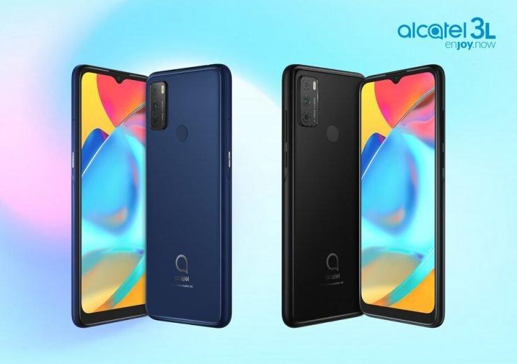 Drie vernieuwde smartphones bij Alcatel.
